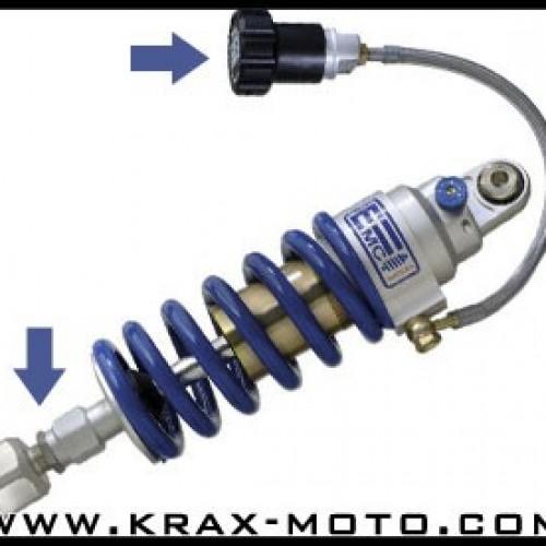 Amortisseurs EMC Sportshock I 04-07 Precharge+Correcteur - FZ6 - Yamaha