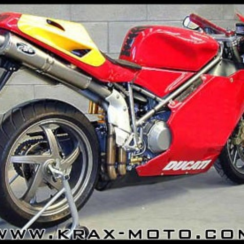 Silencieux G&G Bike 998 - 748 916 996 998 - Ducati