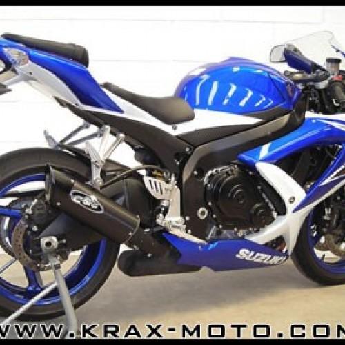 Silencieux G&G 2008-09 - GSXR 600 - Suzuki
