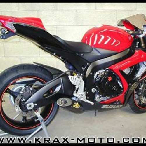 Silencieux G&G Bike 2006 - GSXR 600 - Suzuki