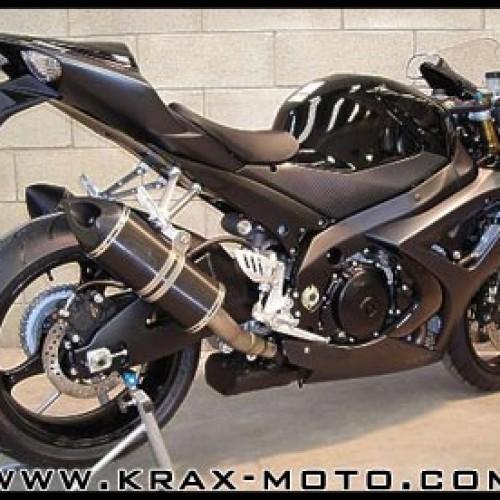 Silencieux G&G Bike 2007 - GSXR 1000 - Suzuki
