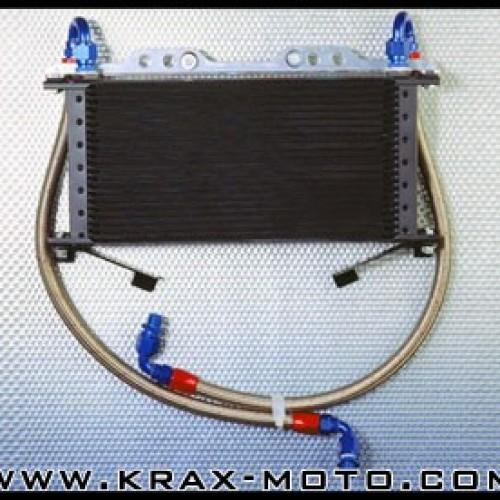 Durites radiateur d'huile Inox - GSXR 1100 1989-92 - Suzuki