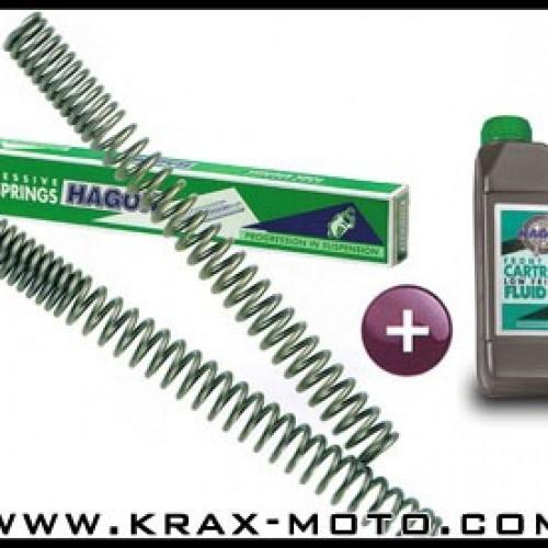 Ressort de fourche Hagon 600 1988/95 - GSXF 600-650-750 - Suzuki