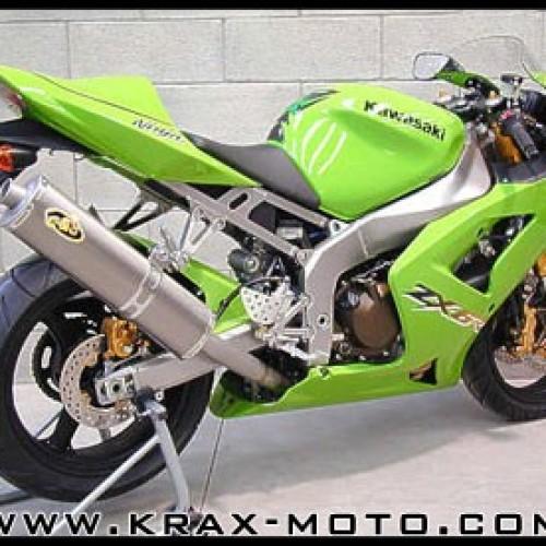 Silencieux G&G Bike 2003-04 - ZX6 R  2003+ - Kawasaki