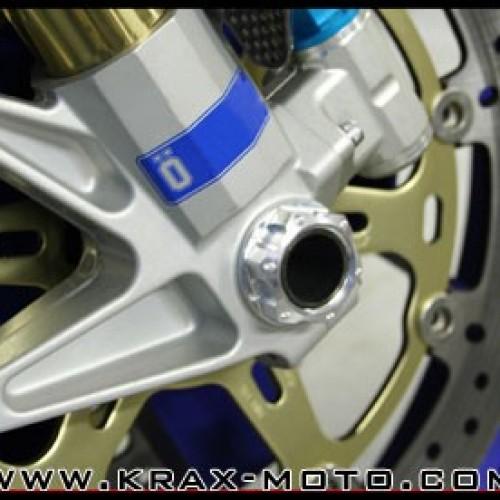 Ecrou de roue avant Evotech 2006-09 - ZX10 R - Kawasaki