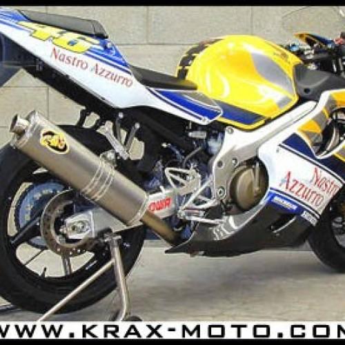 Silencieux G&G Bike FS 2001+ - CBR 600 - Honda