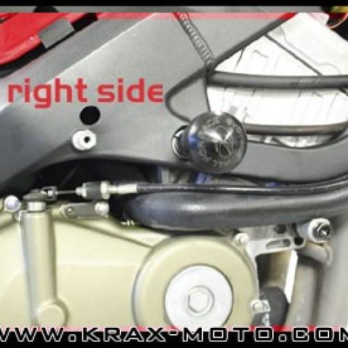 Kit protection Evotech 1999-06 - CBR 600 F/FS - Honda