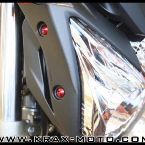 Kit visserie de phare Evotech 2009+ - XJ6 - Diversion - Yamaha