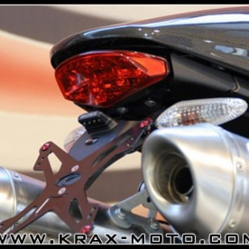 Support de plaque Evotech - Monster 696 - Ducati