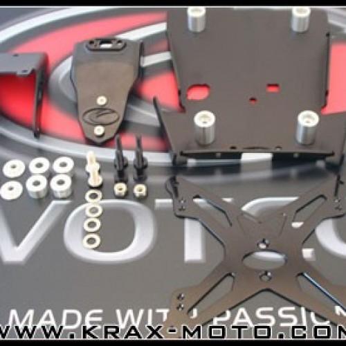 Support de plaque Evotech - Monster 796-1100 - Ducati