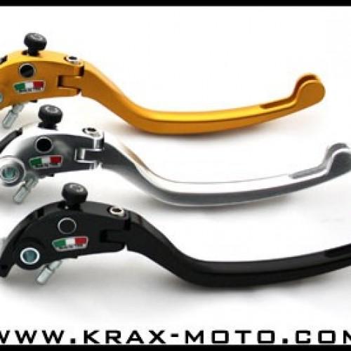 Leviers repliables TWM 2005-06 - ZX6 R  2003+ - Kawasaki