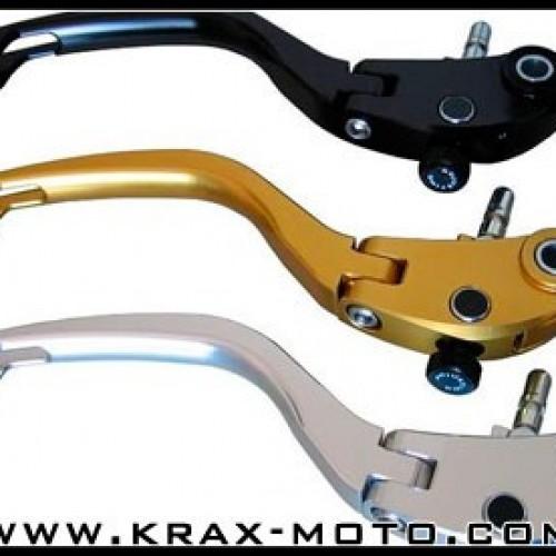 Leviers repliables TWM 2007-11 - CBR 600 - Honda