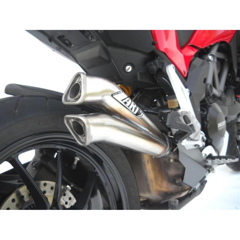 Silencieux Zard V2 - Multistrada 1200 - Ducati