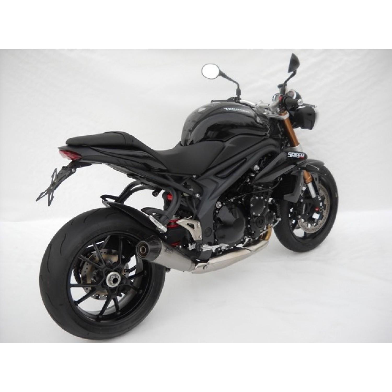 silencieux zard conique homologu 2011 speed triple 1050 triumph krax moto. Black Bedroom Furniture Sets. Home Design Ideas