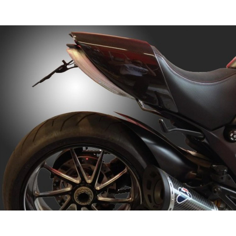 support de plaque titan diavel ducati krax moto. Black Bedroom Furniture Sets. Home Design Ideas