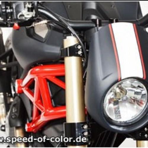"""Saut de vent Speed of Color """"Skyline"""" - Monster 696 769 1100 - Ducati"""