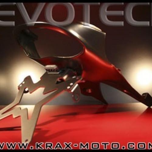Support de plaque Evotech 2008/10 (passage de roue) - SpeedTriple 1050 - Triumph