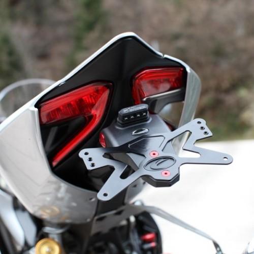 Support de plaque Evotech - Panigale - Ducati