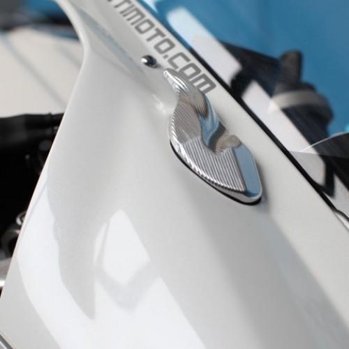 """Obturateur de rétroviseurs Evotech """"R 2013' - Daytona 675 - Triumph"""