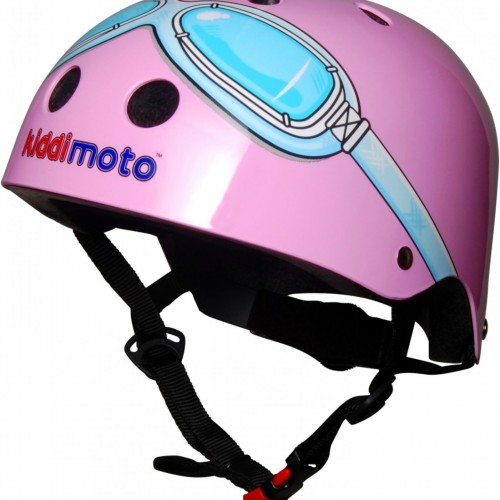 Casque Kiddimoto Pink Googles