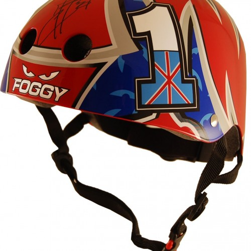 Casque Kiddimoto Carl Fogarty