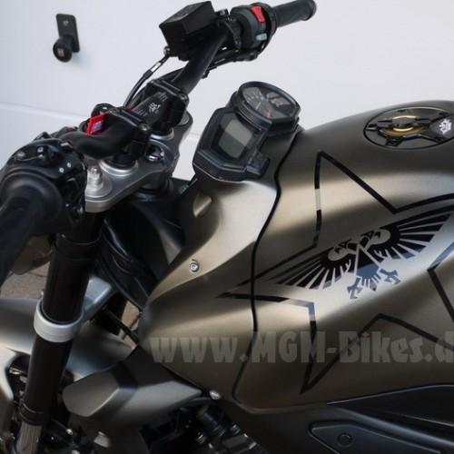 Couvre réservoir/Support compteur MGM - FZ1 - Yamaha