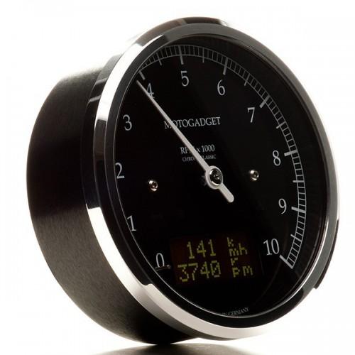 Compteur analogique Motogadget Motoscope Chronoclassic