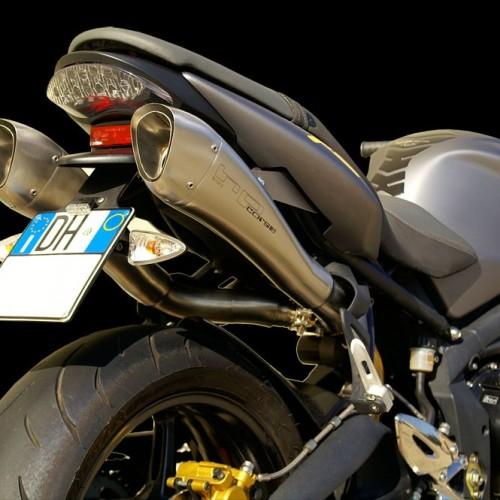 Silencieux HP Corse Hydroform 07-12 - Street Triple 675 - Triumph