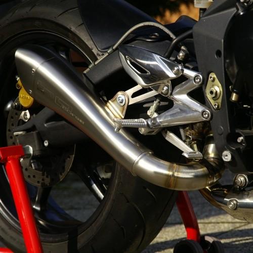 silencieux hp corse hydroform bas 07 12 street triple 675 triumph krax moto. Black Bedroom Furniture Sets. Home Design Ideas