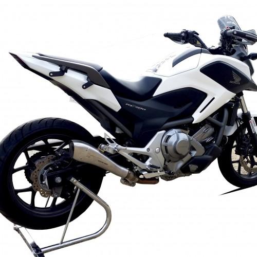 silencieux hp corse hydroform nc 750 x honda krax moto. Black Bedroom Furniture Sets. Home Design Ideas