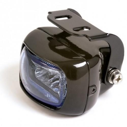 Optique antibrouillard mini noir