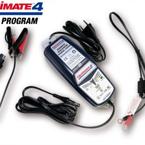 Chargeur de batterie Optimate 4 Dual Program