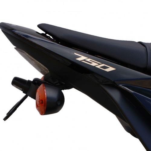 support de plaque evotech performance gsr750 suzuki krax moto. Black Bedroom Furniture Sets. Home Design Ideas