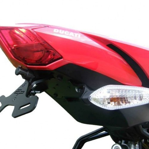 Support de plaque Evotech Performance - Streetfighter - Ducati