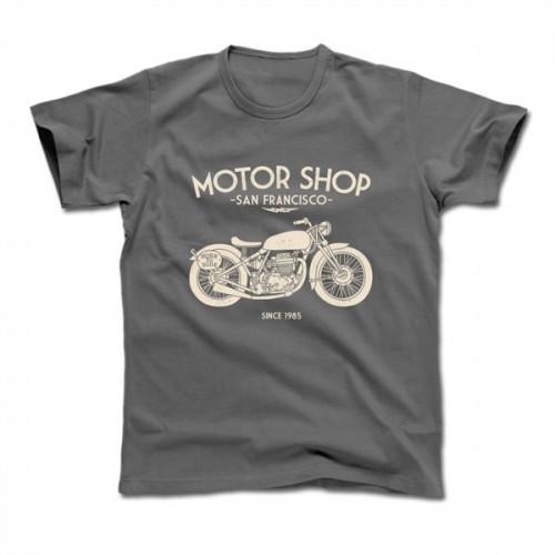 "T-Shirt Harisson ""Motor Shop"""