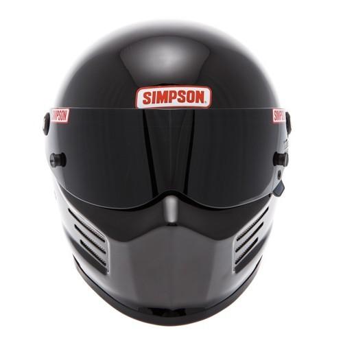 Casque Simpson Bandit noir brillant