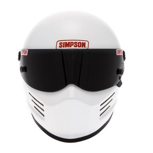 Casque Simpson Bandit blanc