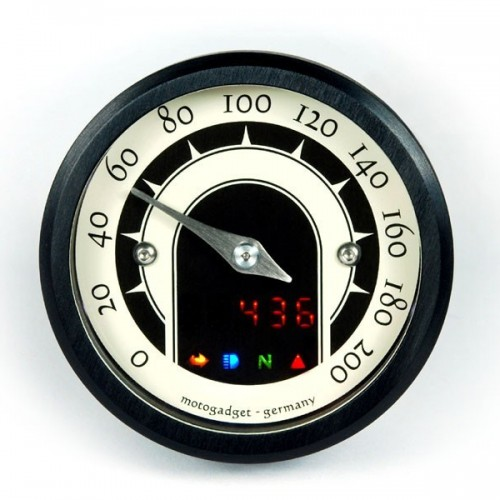 Compteur Motogadget Motoscope Tiny Speedster+m-Tri - Speed Triple R 2012 - Triumph