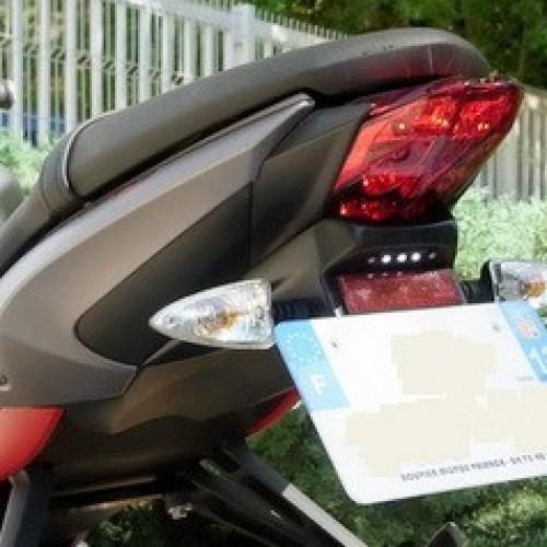 Support de plaque JMV Concept 2013-14 - Street Triple - Triumph