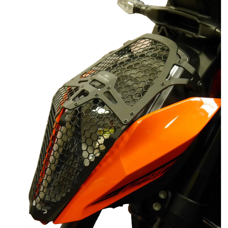 grille de phare evotech performance superduke 1290 ktm krax moto. Black Bedroom Furniture Sets. Home Design Ideas