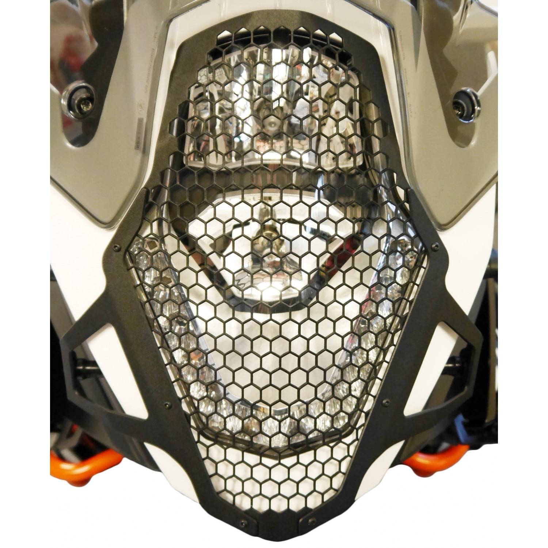 grille de phare evotech performance 1190 adventure ktm krax moto. Black Bedroom Furniture Sets. Home Design Ideas
