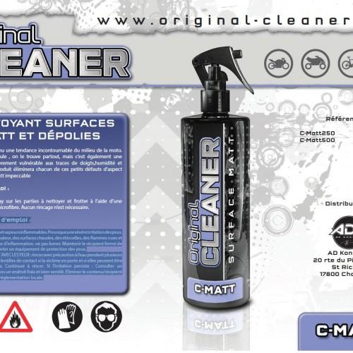 Original Cleaner Nettoyant surfaces matt