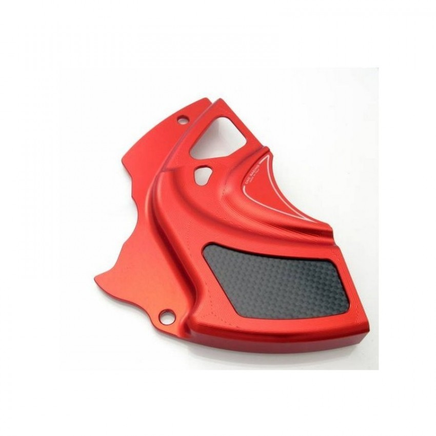 Carter de pignon avec insert carboneCN Racing - Diavel - Ducati