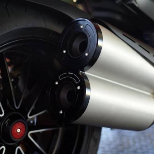 Embout de silencieux CNC Racing - Diavel - Ducati