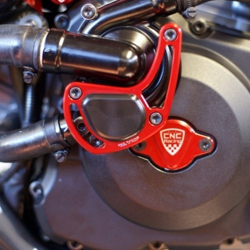 Protection pompe à eau CNC Racing - Diavel - Ducati