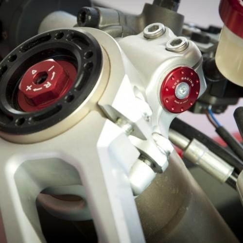 kit bouchon demi guidon  CNC Racing - Panigale 1199 - Ducati