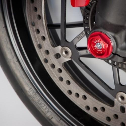 Kit bouchon axe de roue avant CNC Racing - Panigale - Ducati