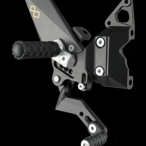 Commandes reculées Sel.inversée Lightech - Panigale 1199 - Ducati