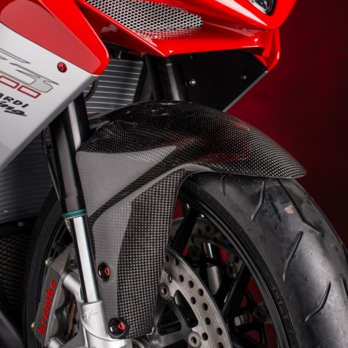 Garde boue arrière carbone Lightech - F3 - MV Agusta