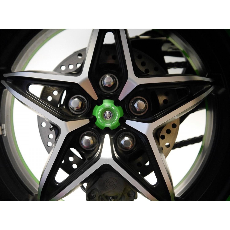 kit protection roue arri re evotech performance h2 kawasaki krax moto. Black Bedroom Furniture Sets. Home Design Ideas